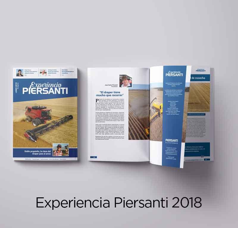 Experiencia Piersanti 2018
